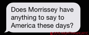 Text a friend sent me after Moz @ MSG