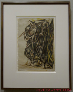 "Breaking out. ""Untitled,"" 1938-41. Still don't think he could draw?"