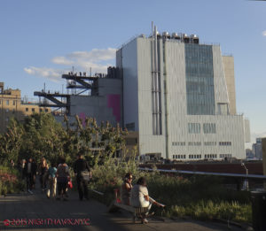 And, seen from the High Line.