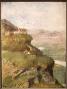 Yes. This is a Landscape by Degas, Pastel over Monotype in Oil, 1890