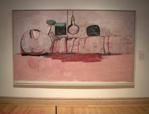 """""""Stationary Figure"""" by Philip Guston, 1973, at The Met, 2016"""