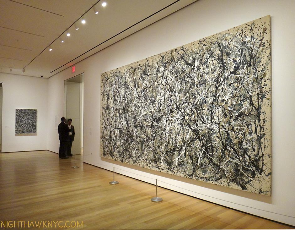 Krasner, left, and Pollock