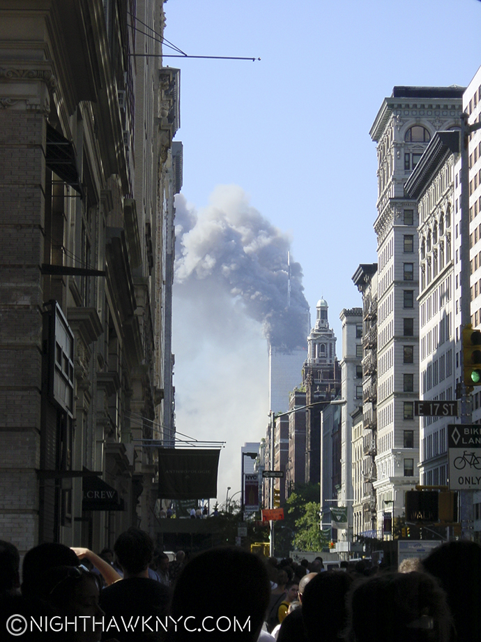 I shot this on 9/11 from 5th Avenue and 17th Street.
