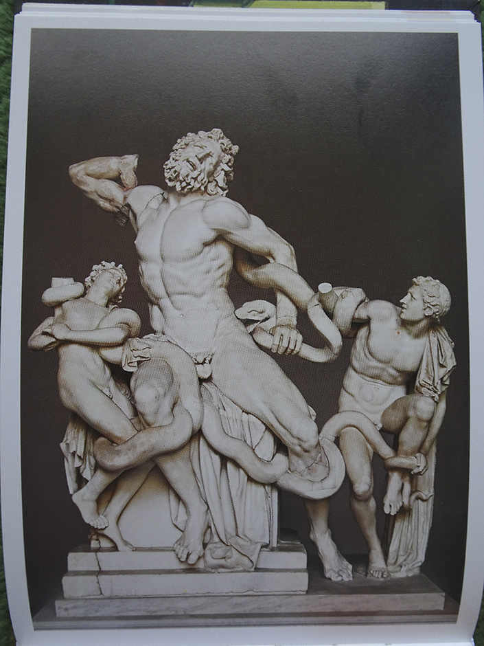 """Laocoon"" from ""When Art Really Works,"" published by Barron's"