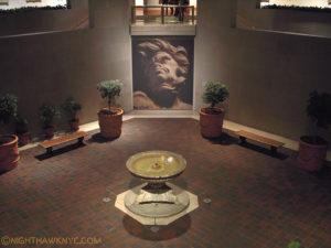 "Robert Lehman Wing Courtyard, January, 2013, during ""Bernini: Sculpting in Clay"""