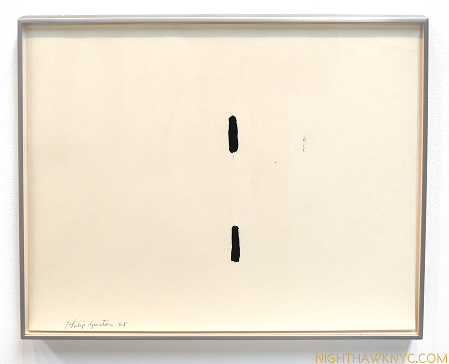 """Untitled,"" 1968. Drawing."