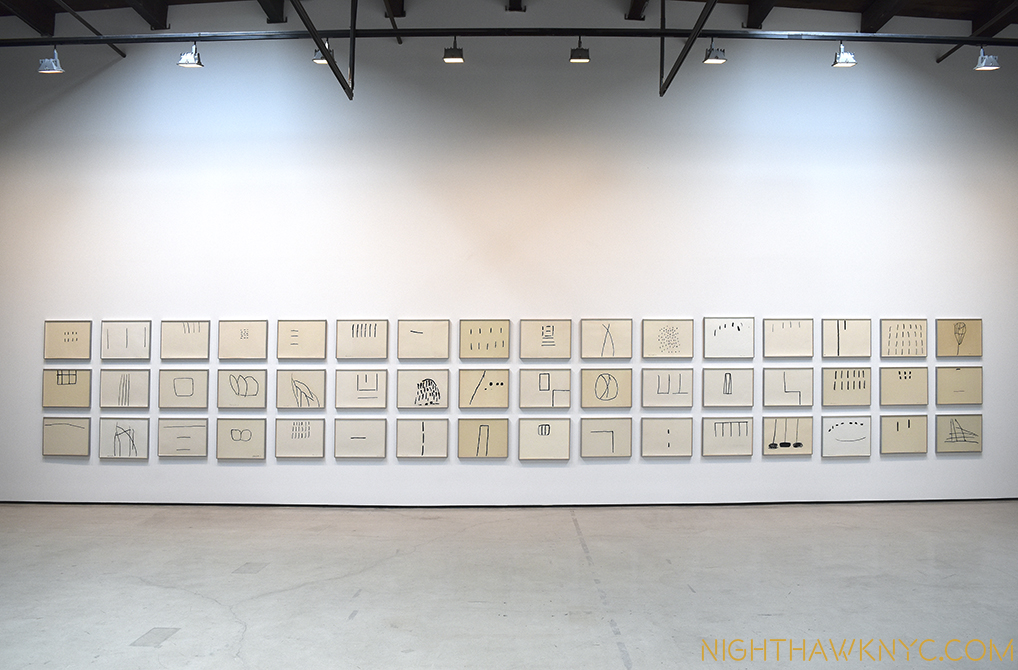 "Zen Master. 48 ""Untitled"" Drawings, 1967-69."