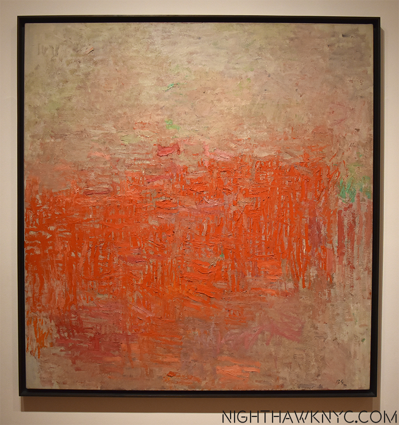 "What came before... ""Painting,"" 1954, on view at Moma"