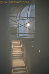 Even the stairwells to the lower floor of MxM were imaginatively used, again, seen through the mesh.