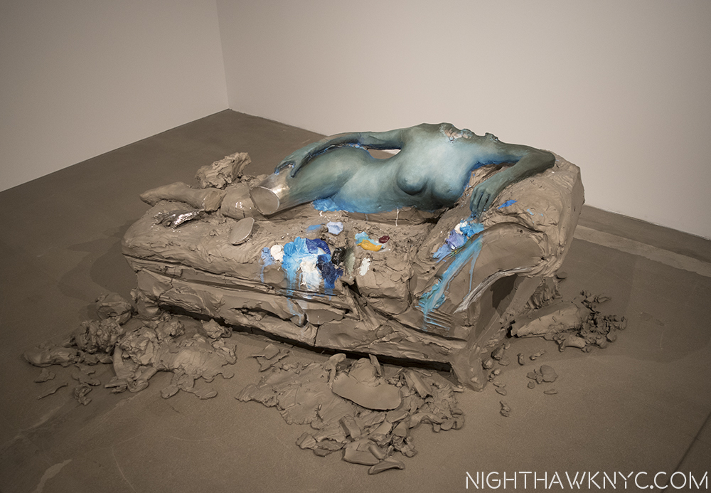 "The day after at the NighhawkNYC offices? No. ""2,"" 2014, by Urs Fischer."