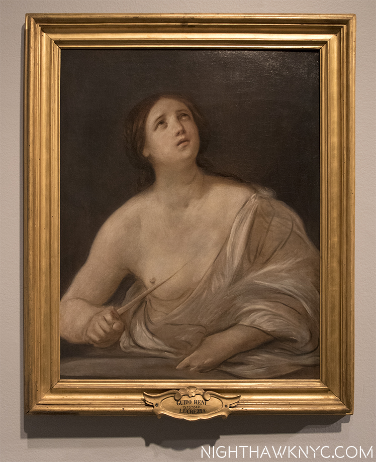 "Finished, or Un? ""Lucretia,"" 1642, by Guido Reni. Magnificent."