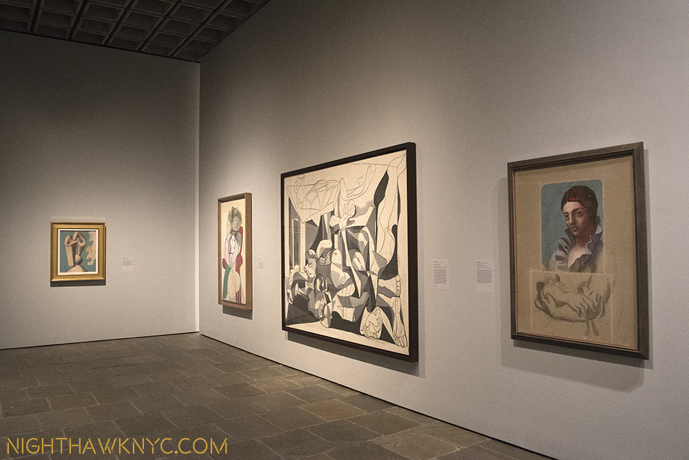 Pick a style-any style. 4th Floor Lobby/Galley 1. Picasso 1921, '29, '31, '45.