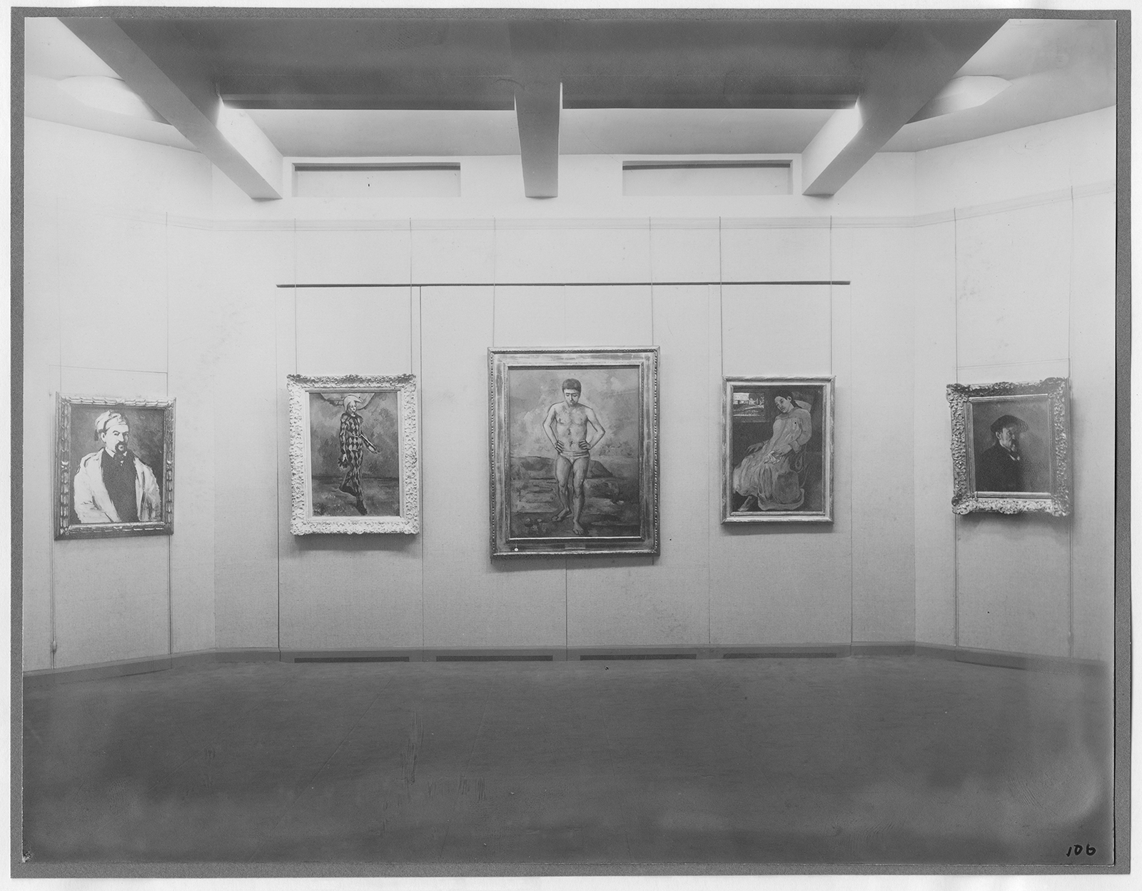 Mom'a First Show! Installation view of the exhibition Cézanne, Gauguin, Seurat, Van Gogh, on view November 7, 1929 through December 7, 1929 at The Museum of Modern Art, New York. The Museum of Modern Art Archives, New York. Photographer: Peter Juley