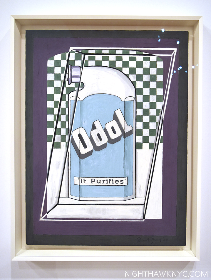 """Odol,"" 1924, a bottle of mouthwash, presaging Warhol by 35 years."