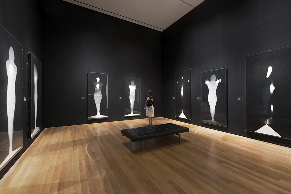 """Angels"" by Bruce Conner. Photo courtesy of Moma."