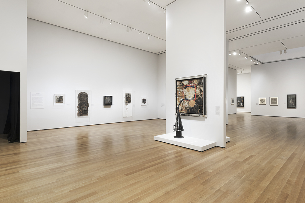The first gallery featuring Assemblages. Photo ©MoMA