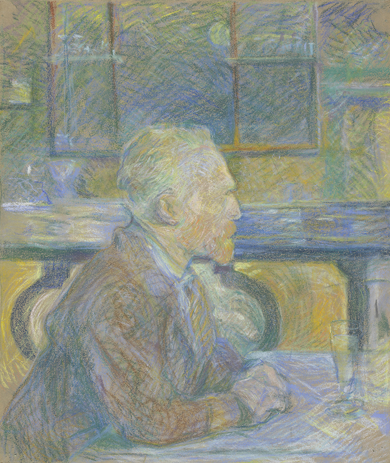 a17167652d5 As close as I ll ever get to knowing what it felt like to sit next to Vincent  van Gogh. Henri de Toulouse-Lautrec